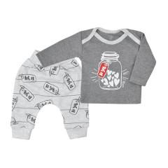 Tepláčky a tričko Koala To You šedé