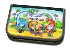 Školní pouzdro 2-klopy prázdné Dinopark Emipo