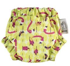 Pop-in tréninkové kalhotky noční Flamingo