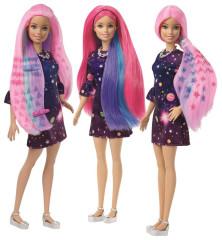 Barbie s žužu vlasy běloška