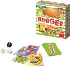 Burger společenská hra malá v krabici