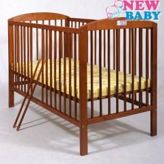 Buková postýlka NEW BABY Juliet - teak