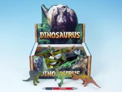 Dinosaurus plast 12-14cm