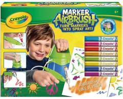 Kreslící studio -Crayola Marker Airbrush modrý