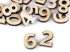 Dřevěná čísla