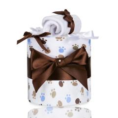 Plenkový dort malý T-tomi, bílé tlapky