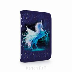 Penál jednopatrový plný s chlopní Unicorn