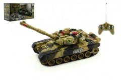 Tank RC T-80 plast 25cm s dobíjecím packem+adaptér na baterie