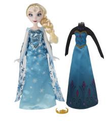 Frozen panenka s náhradními šaty  - Elsa