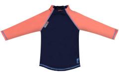 Pop-in triko UV filtr dlouhý rukáv Navy/Coral