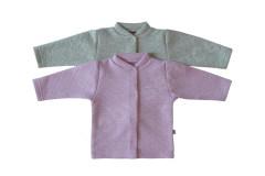 Zimní kabátek se třpytkami Mikrotermo Baby Service