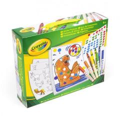 Kreativní sada se samolepkami Crayola