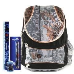 Školní batoh Cool set Orel - 4-dílná sada - školní pomůcky