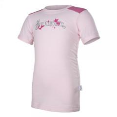 Tričko tenké krátky rukáv Outlast® růžové Little Angel