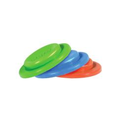 Silikonové těsnící disky PURA, 3ks - zelená+modrá+červená