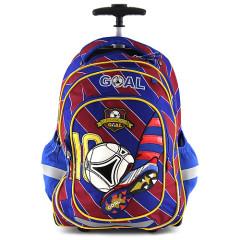 Školní batoh trolley Goal - Barcelona
