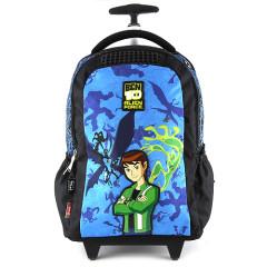 Školní batoh trolley Ben 10 - plastová mřížka