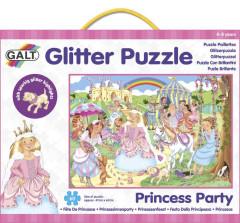 Třpytivé puzzle - princezny