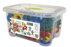 Stavebnice Disco 96ks v plastovém boxu
