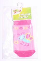 Kojenecké ponožky bavlna KIKKO 0 - 6 m MOTÝLEK typ 9