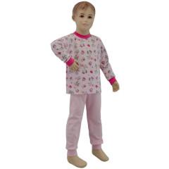 Bavlněné pyžamo růžové miss star Esito Vel. 80 - 116