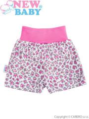 Kojenecké kraťásky New Baby Leopardík růžové vel. 68