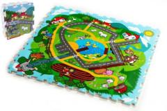 Pěnové puzzle - Město Moje první zvířátka