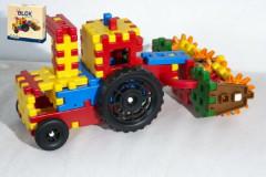 Stavebnice Blok farmář plast 172ks