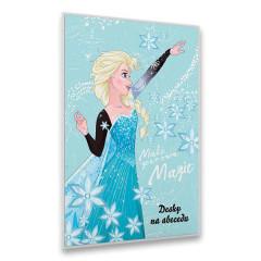 Desky na abecedu Frozen