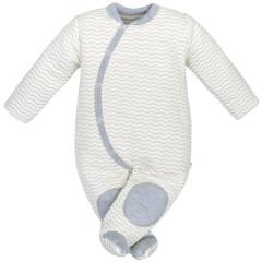 Zimní kombinéza mikrotermo úplet vlnky Baby Service