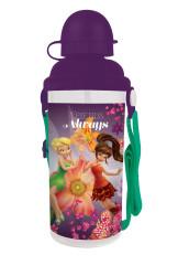 Láhev na pití plastová Fairies Víla Zvonilka