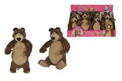 Máša a medvěd Plyšový medvěd 25 cm Simba