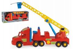 Auto Super Truck hasiči plast 77cm