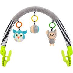Hračka na kočárek Baby Mix myška, sova