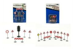Dopravní značky plastové 16x25cm
