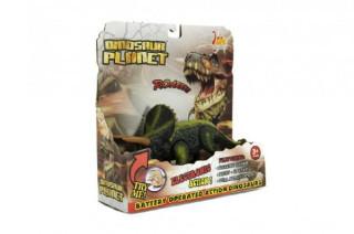 Dinosaurus plast 23-25 cm na baterie se zvukem a světlem
