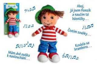 Panenka kluk Honzík hadrový plyš 30 cm česky mluvící