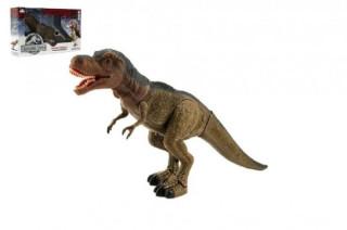 Dinosaurus chodící 40cm na baterie se světlem se zvukem