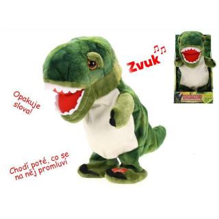 Dinosaurus chodící a mluvící 20 cm