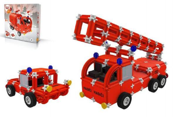 Stavebnice Seva Rescue 1 hasiči plast 545ks v krabici