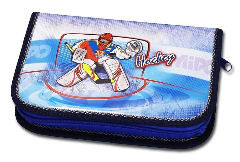 Školní pouzdro 1-klopa prázdné Hockey Emipo