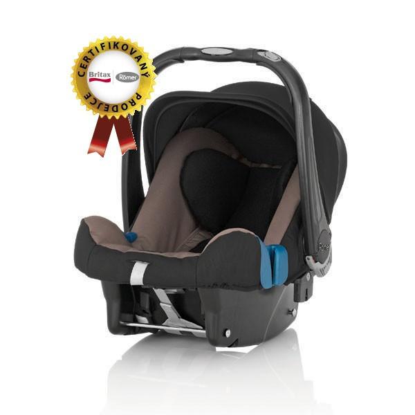 Autosedačka Römer Baby-Safe plus SHR 2 2014 - Fossil Brown 0 - 13kg