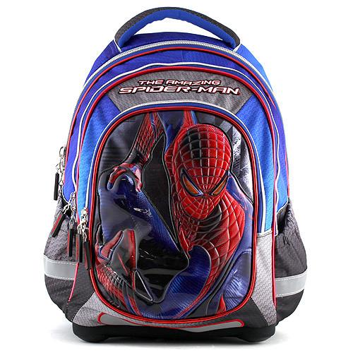 48a9fb21217 Školní batoh Spiderman - Modro-černý
