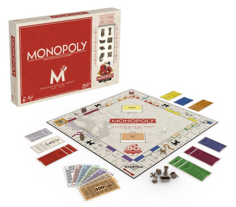 Monopoly k 80. výročí
