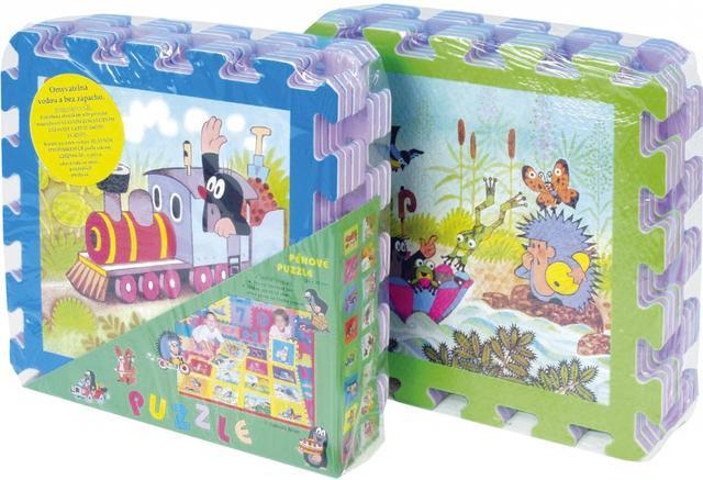 Pěnové puzzle, Krtek II 30x30 8 dílků