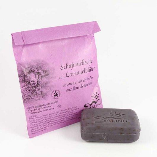 Mýdlo z ovčího mléka s levandulí (bio)