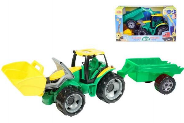 Traktor se lžící 60cm a přívěsem 45cm