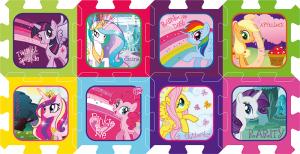 Pěnové puzzle My Little Pony 32x32x1cm
