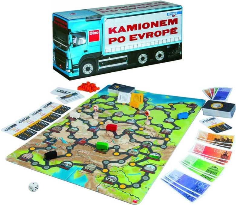Kamionem po Evropě Dino