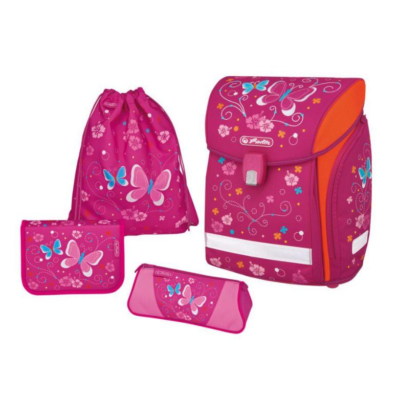 439fe8d7875 Školní batoh Herlitz Midi motýl vybavený SET
